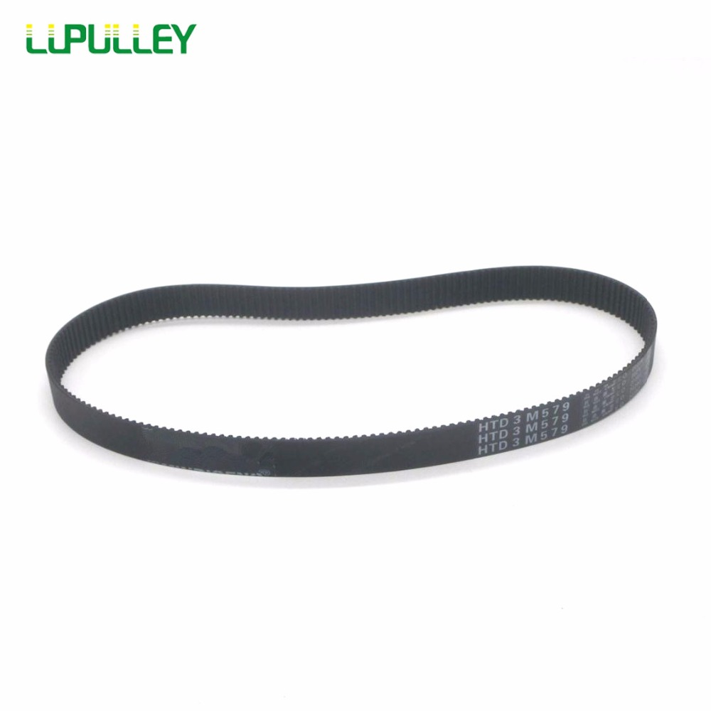 5pcs 450-3M HTD Timing Belt 150 Teeth Cogged Rubber Geared Closed Loop 20mm Wide