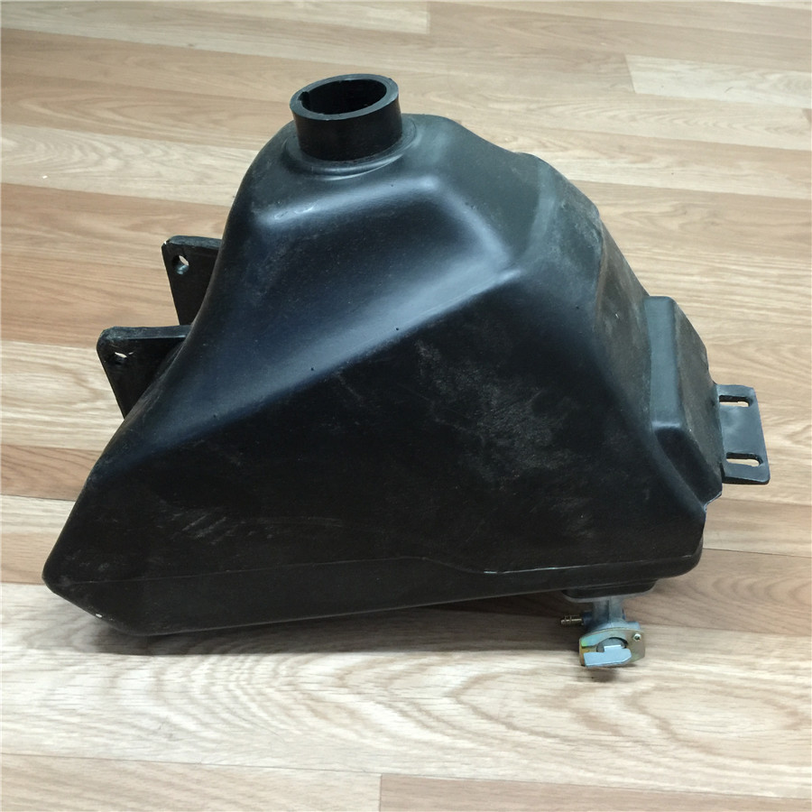 STARPAD For Zongshen GY Motocross plastic fuel tank black motorcycle accessories free shipping