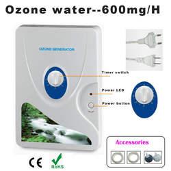 Генератор озона очиститель воздуха портативный концентратор кислорода Ozonizador Ozonio Ozonator Purificador компрессор воздуха 600 мг 110 В 220