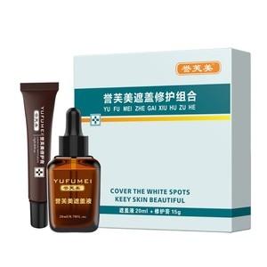 Scar Tattoo Skin Repair Cream Cover Hiding Spots Birthmarks Concealer Set Waterproof Kit For Coverage Vitiligo 2019