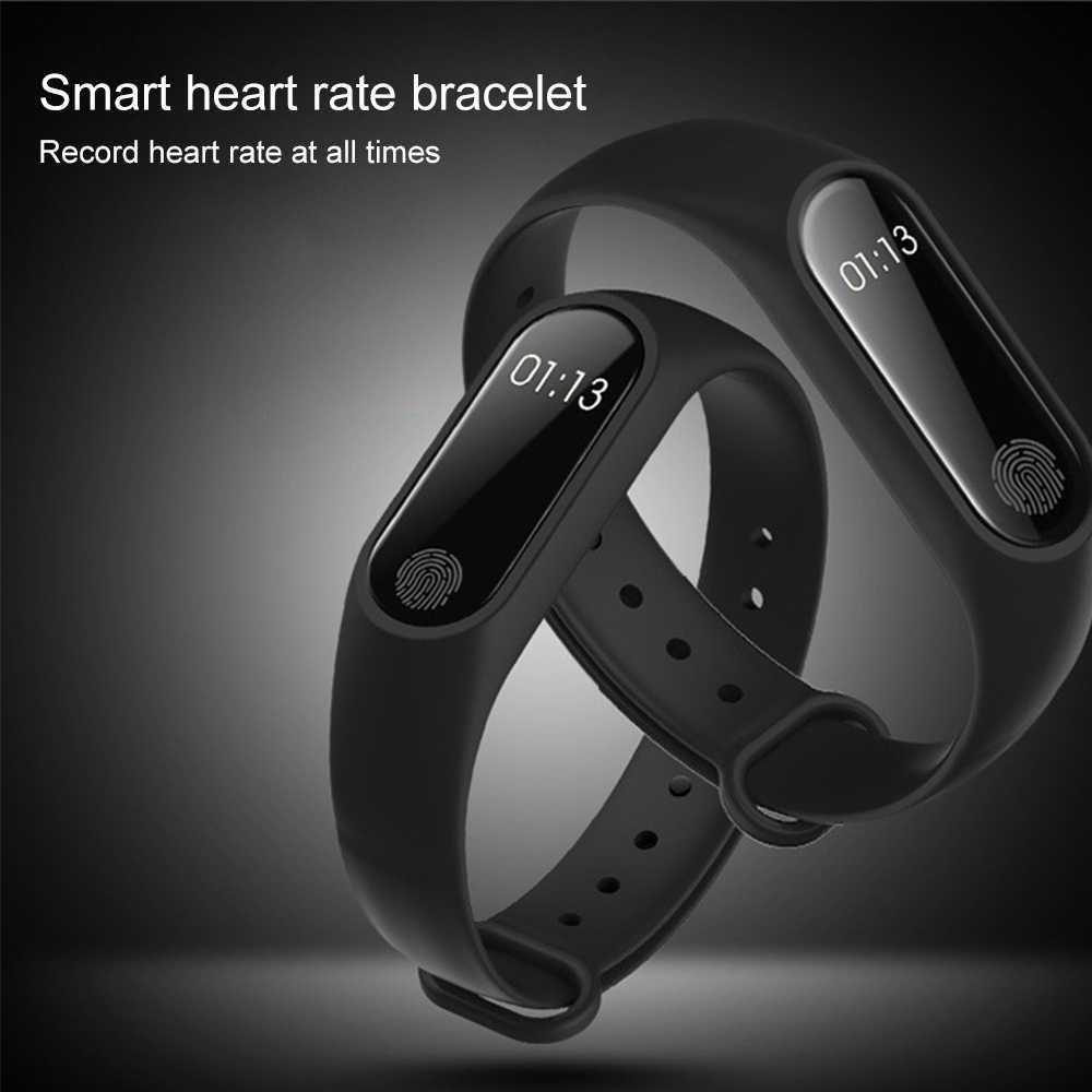 แบบพกพาเครื่องวัดความดันโลหิตแบบพกพาเครื่องวัดความดันโลหิตสมาร์ทสายรัดข้อมือ Heart Rate Monitor การแพทย์อุปกรณ์ฟิตเนส Tracker กีฬา Pedometer นาฬิกาอิเล็กทรอนิกส์