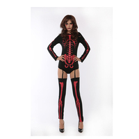 Wholesale Fashion Skeletons Dancing Costume For Halloween