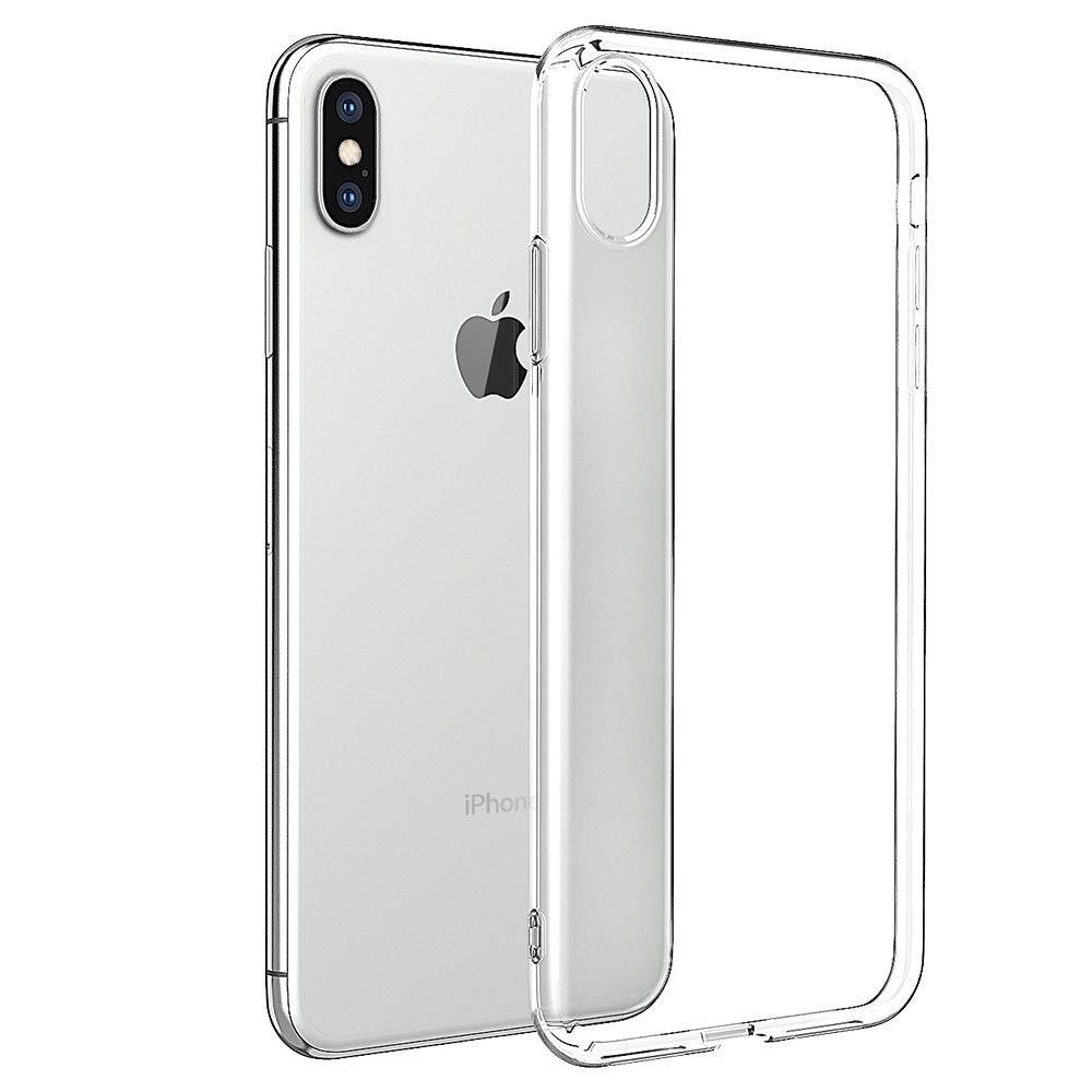 coque iphone xs portefeuille transparente