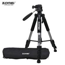 ZOMEI Q111 ترايبود خفيفة الوزن المحمولة السفر سبائك الألومنيوم كاميرا ترايبود للهاتف لكانون نيكون سوني DSLR الهاتف الذكي