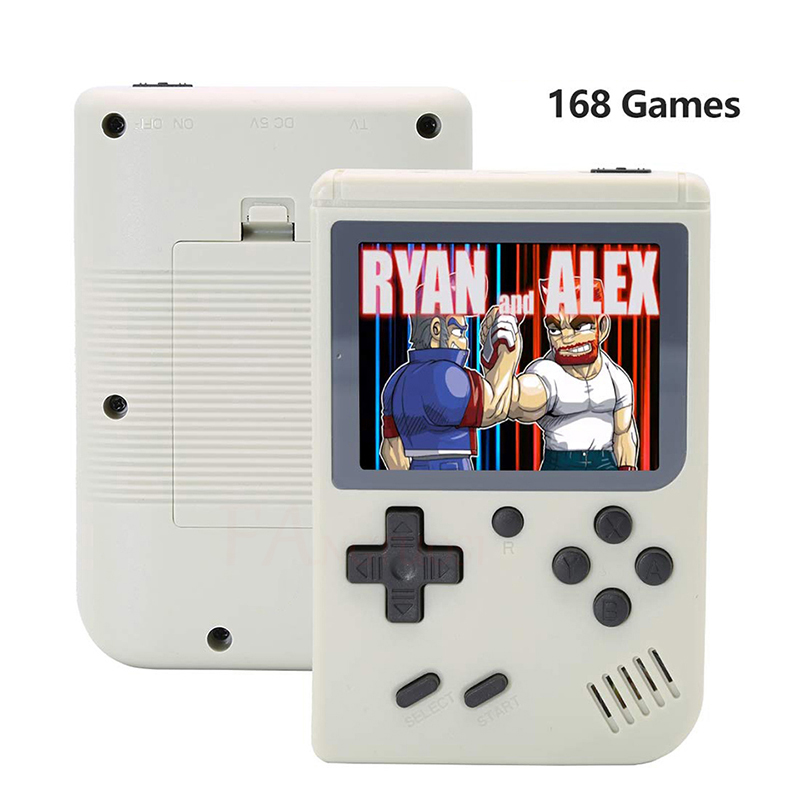 FANGTUOSI Video Game Console 8 Bit Retro Mini Pocket Handheld Game Player Built-in 168 Classic Games for Child Nostalgic Player 3