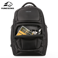 Kingsons KS3171W Large Capacity Anti Impact Men S Laptop Backpack With Charge USB Cable Military Travel