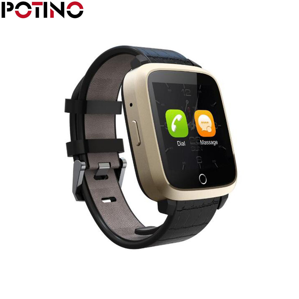 POTINO U11S Bluetooth Smart Watch Heart Rate Monitor GPS Health Wrist Smartwatch for Android IOS Fastion Top Quality mu2 unisex bluetooth wrist watch health sleep monitor for android ios