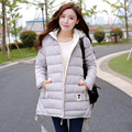2016 Winter High Grade Thickening Warm Plush Maternity Coats Female Hooded Cotton Jackets Pregnant Women Elegant Long Down Coat