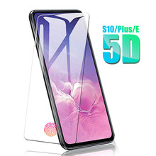 5d Protective Glass On For Samsung Galaxy S10e S10 plus 5G Tempered Glas s 10 e