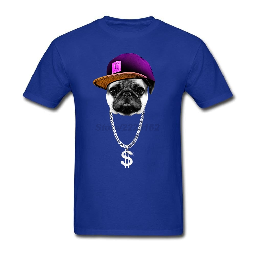 US $12 72 47% OFF|men Hip Hopper Pug Shirts Popular Spring Cheap Price Rock  Shirt Greek t shirt Graphic Fit Oversize Adult Team garment-in T-Shirts