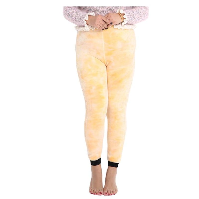 Super Elastic Women Thicken Winter Warm Leggings Plus Size Velvet Fur leggings Bodycon Pencil Pants Ankle Length High Waist 3XL