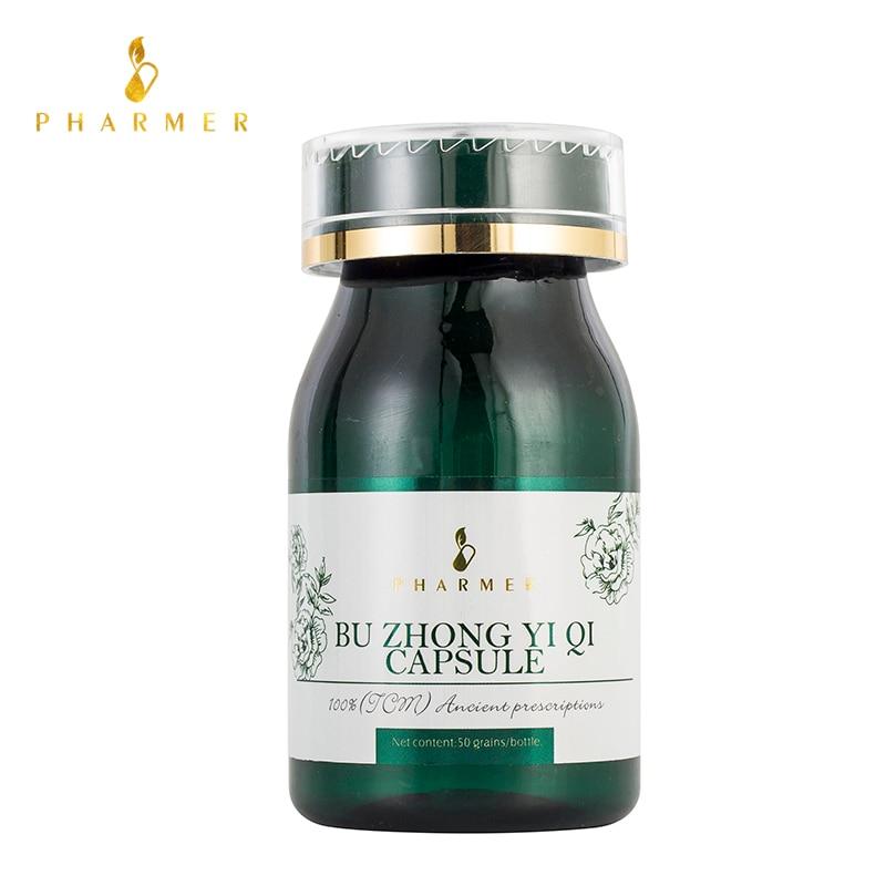 pharmer-bu-zhong-yi-qi-capsule-ameliorer-l'immunite-proteger-le-foie-le-coeur-les-reins-et-recuperer-les-cellules-endommagees-retarder-le-vieillissement-50pcs
