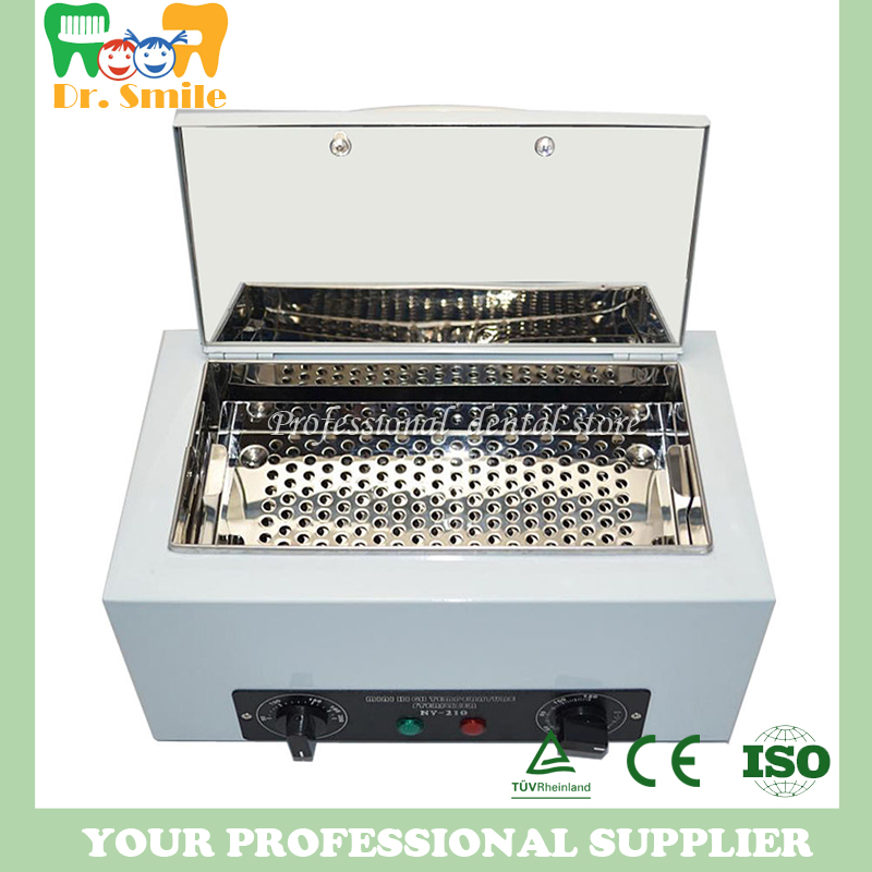 Portable dental autoclave sterilizer Dental Care Sterilizer uv sterilizer Dry heat hot air sterilizer portable dental autoclave sterilizer with replaceable tray high temperature sterilizer hot air disinfection with wooden holder