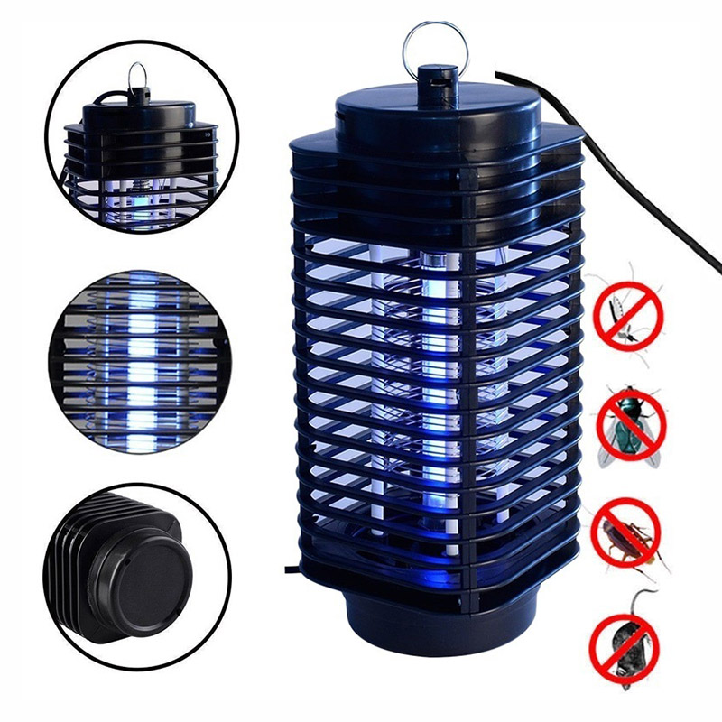 Garden Supplies Pest Control Electric Electric Mosquito Killer Moth Killing Insect LED Bug Zapper Fly Lamp