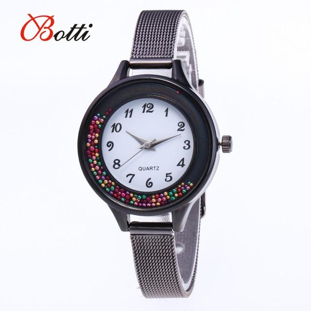 Women Fashion Bracelet Watches Women Stainless Steel Band Quartz Watch Luxury Wo
