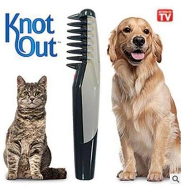Auto Dog Hair Brush Grooming Combs