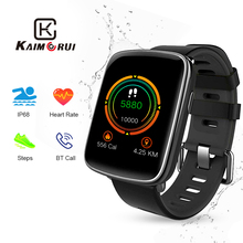 цена на Smart Watch IP68 Waterproof Heart Rate Bluetooth Smartwatch Men Replaceable Straps Fitness Tracker for Xiaomi Huawei Smart Phone