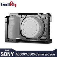 SmallRig Dslr Rig Cage pour Sony A6500 A6300 En Aluminium Alliage Cage (mise à niveau version)-1889