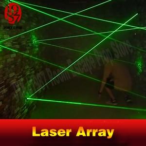 Image 3 - laser array for escape room game adventurer prop laser maze for Chamber of secrets game intresting and risking green laser game