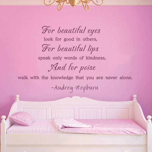 Audrey Hepburn Quote For Beautiful Eyes Look The Good In