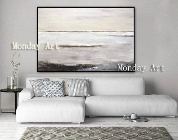 JJ Hand-painted-Abstract-Painting-Large-Original-Oil-Painting-Modern-Art-Taupe-White-Brown-Contemporary-Design-Canvas (2)