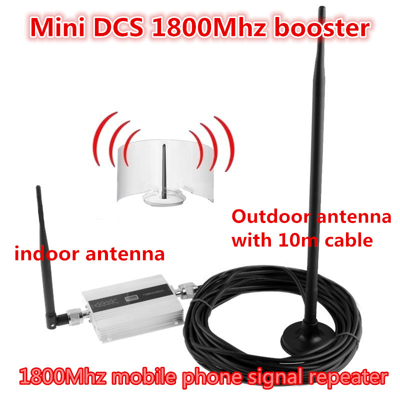 Écran lcd GSM Répéteur 1800 Mhz Booster Cellulaire Signal Récepteurs Amplificateur booster DCS 1800 répéteur Mobile Signal de Téléphone amplificateur