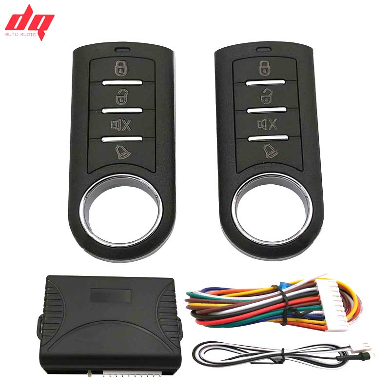 10P Universal Car Alarm System With Remote Control Auto Remote Central Kit Door Lock Locking System With Key Central Locking