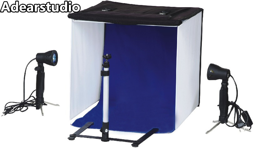 photography lights studio light set photography light box Suitcase photo box photographic equipment 50x50cm NO00dc насос taifu tvm 60 1 10м
