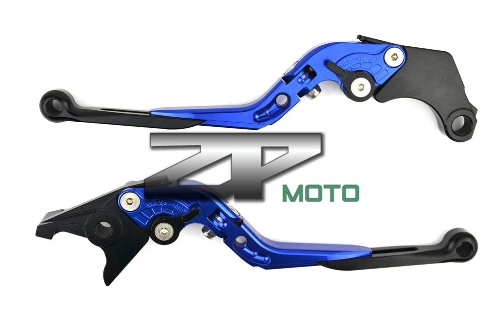 Adjustable Folding Extendable Brake Clutch Levers For Kawasaki Versys 1000 W800 ZZR1200 ZRX1100/1200 8 Colors adjustable folding extendable brake clutch levers for kawasaki versys 1000 w800 zzr1200 zrx1100 1200 8 colors
