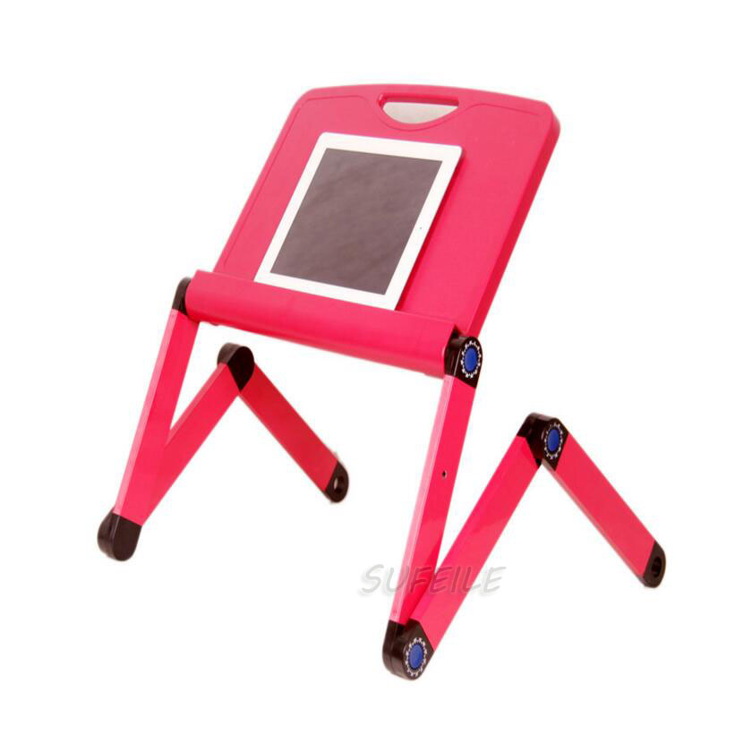 SUFEILE High quality Portable Laptop Table Stand Desk folding Table Tray On Sofa Bed 360 rolling mesa D5 high quality export baby bed folding portable travel bed 3 colors in stock hong kong free delivery without changing table