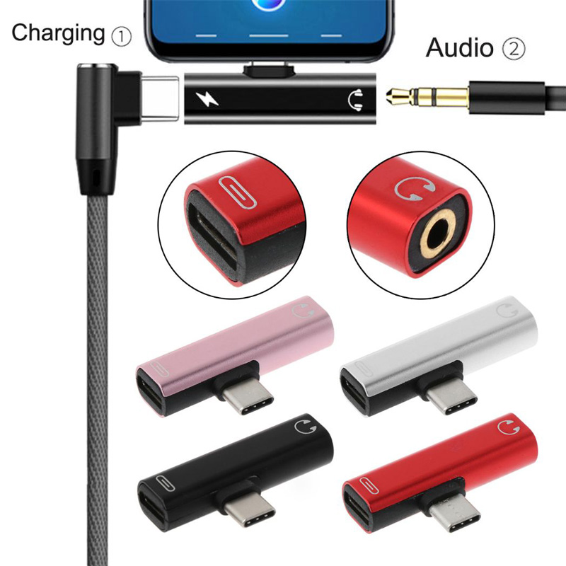 Type C To 3.5mm Charger Earphone Cable USB C Aux Audio Jack Adapter Headphone Converter For Xiaomi For Huawei Dropshipping