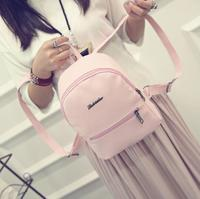 Free shipping FBrans tui fashion Backpack Spring candy color leisure backpack, fresh girl bag PU Leather