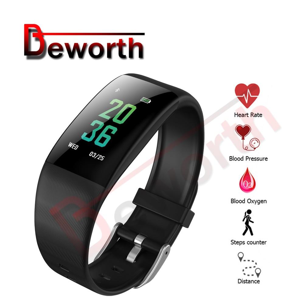 10PCS <font><b>Bluetooth</b></font> Smart Wristband Blood Pressure Oxygen Heart Rate Monitor Fitness Tracker Band Activity Sports Bracelet