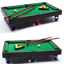 MINI POOL TABLE Flocking Desktop Simulation Billiards Novelty Mini  Billiards Table Sets Childrenu0027s Play Sports Balls Sports Toys