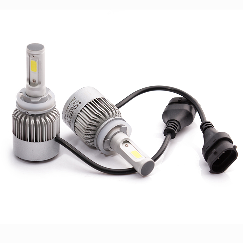 car headlight  H7 LED H11 H8 H9 HB3/9005 HB4/9006 9007 H4 h3 H1 880 bulb auto front fog drl bulb automobile headlamp  2pcs cars headlight led cob kits h1 h3 h4 h7 h8 h9 h11 hb3 hb4 9005 9006 bulb car front fog lamps car led headlamp car styling