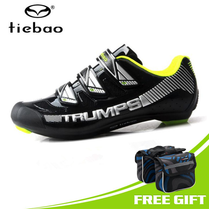 Tiebao Road Cycling Shoes Men sneakers Racing Bike Shoes Self-locking Bicycle Speakers Athletic Ultralight Professional Shoes motachie road cycling shoes mtb racing mountain bike shoes men road bike athletic bicycle speakers self locking professional