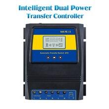 Автоматическая АТС двойной Мощность передачи переключатель контроллер заряда для солнечного ветра Системы DC 12 В 24 В 48 В AC 110 В 220 В включение/выключение сетки
