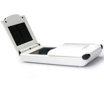 Outdoor portable 12000 mAh solar cell foldable mobile phone laptop charging computer digital charger multiple plug power bank