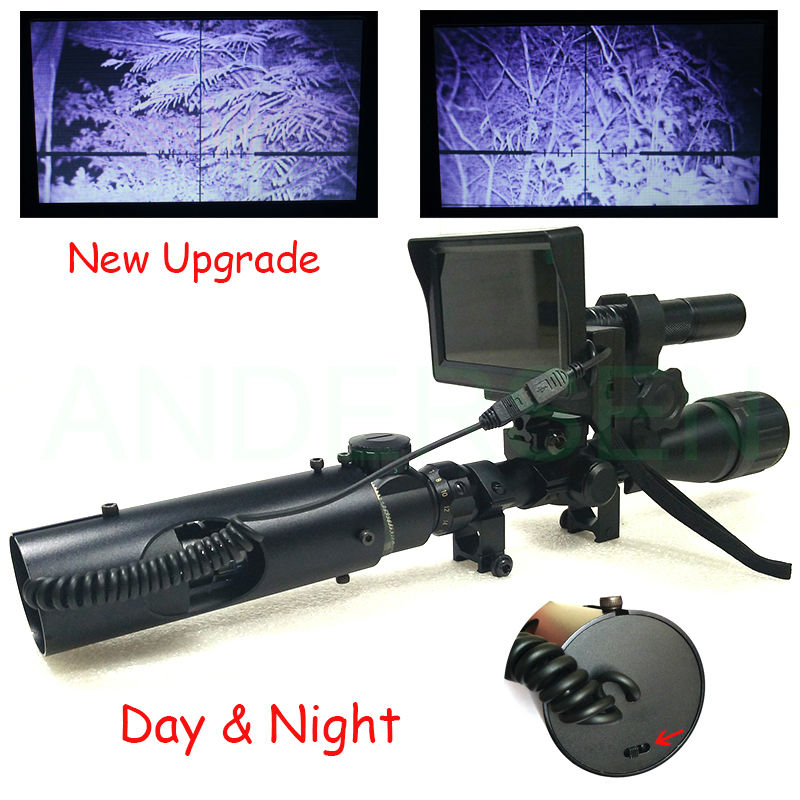 Upgrade Hot Selling Sniper Outdoor Hunting optics Tactical digital Infrared night vision riflescope use in day and night hot selling upgrade outdoor hunting optics sight tactical digital infrared night vision riflescope use in day and night