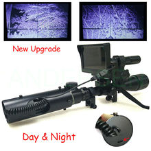 Upgrade Hot Selling Sniper Outdoor Hunting optics Tactical digital Infrared night vision riflescope use in day and