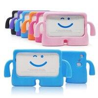 50 шт./лот 7 дюймов детей Планшеты случае Ева силиконовый чехол для Samsung Galaxy Tab 3 4 противоударный T210 T230 t235 T110