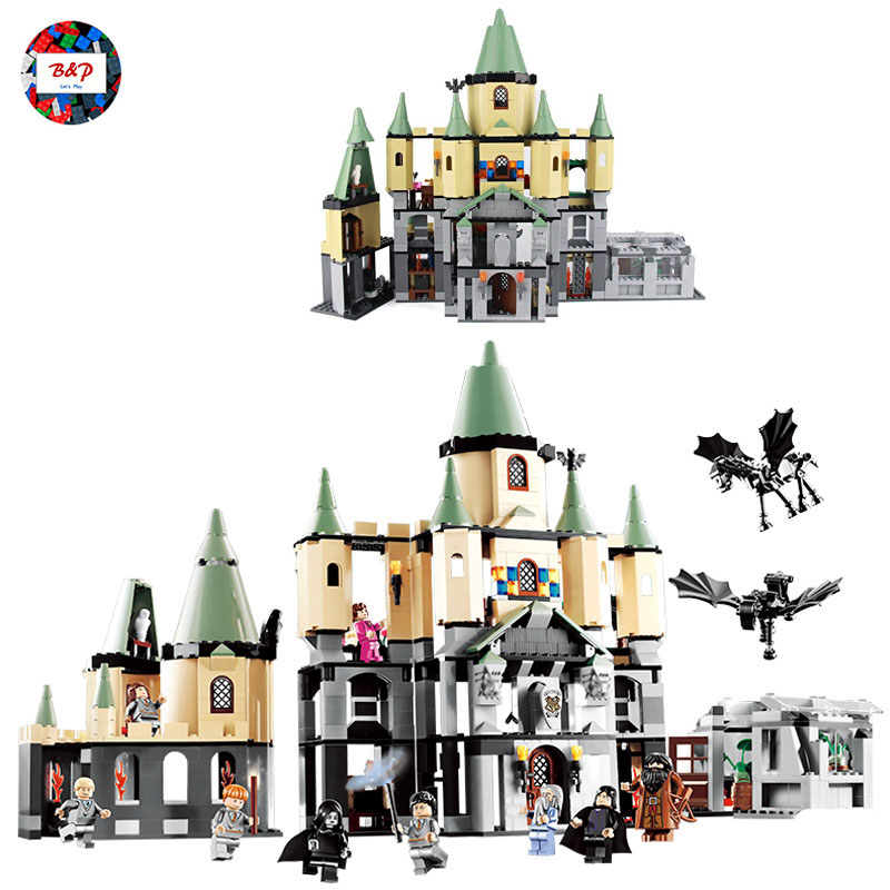 Harrys Potter Series The Magic hogwort castle LEPIN 16029 1033pcs Movie Series Building Block Brick Toy For children Kids 16029 1033pcs lepin 16029 movie series the magic hogwort castle model building blocks bricks educational toys for children gifts 5378