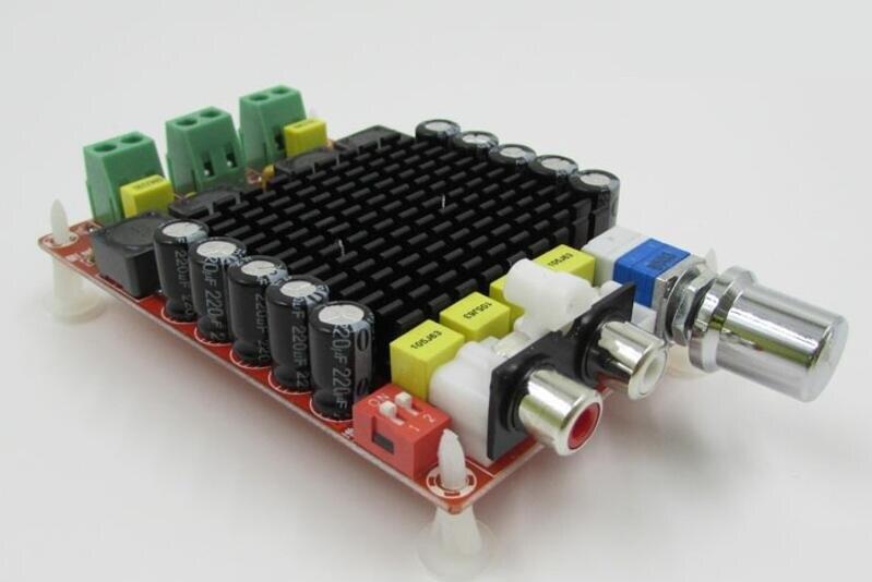 TDA7498 DC 14-34 V Bordo Amplificatore di Classe D 2X100 W Dual Channel Amplificatore Audio Stereo bordo XH-M510