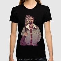 Spring Best Sell Women S T Shirt 80 90s K Dr Short O Neck Letter Cotton