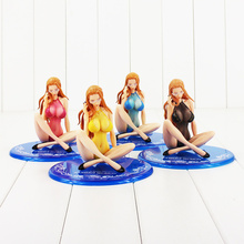 15cm 4 styles Kalifa sexy Model with swimsuit ONE PIECE Hot Japan Anime Action Figure PVC Model Toy free shipping