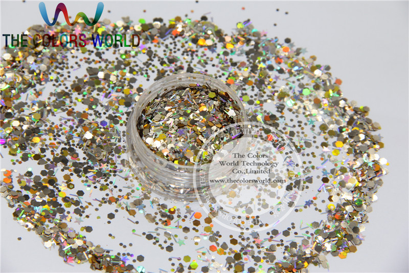 Xmas-13 Mix shiny christmas glitter holographic  colors and  shapes spangles glitter for nail  Art  or  DIY decoration 1pack=50g eurosvet бра eurosvet 29803 1 античная бронза