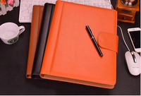 A4 file folder business manager document bag file folder organizer padfolio with ipad pocket paper folder document holder W021
