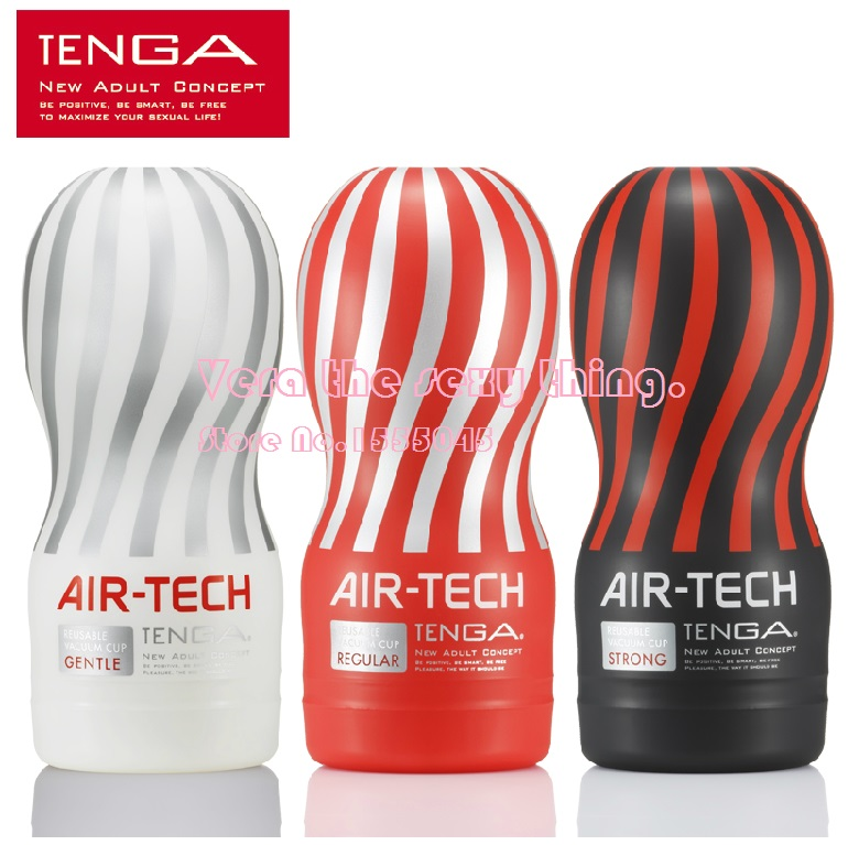 TENGA AIR-TECH Male Masturbator Cup,3 versions, Pussy Vagina, Anal Vaginal Oral Sex Masurbation Cup,Sex products, Adult toys electric automatic retractable male masturbator cup vagina anal sex toys for men sex products