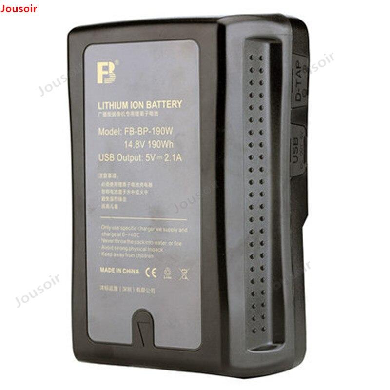 Moniteur de batterie de port de caméra professionnelle de diffusion de FB BP 190W V type baïonnette CD50 T03 - 5