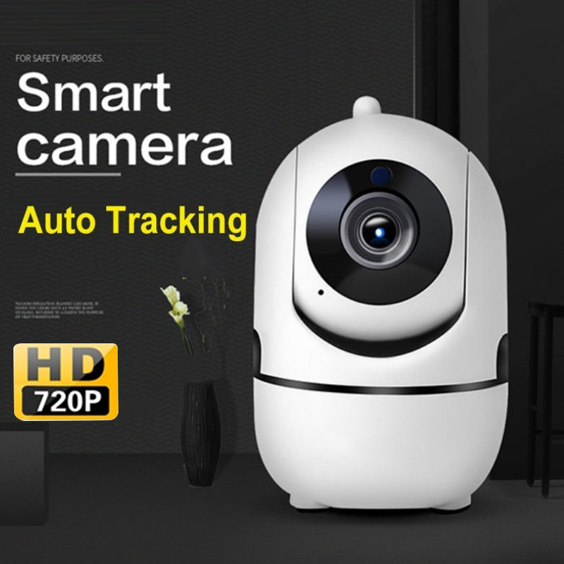 IP Camera 720P HD Tracking Automatically Multifunctional IR Motion Monitor 1.0MP Office Wireless WiFi Camera Motion Detection|Baby Monitors| |  - title=